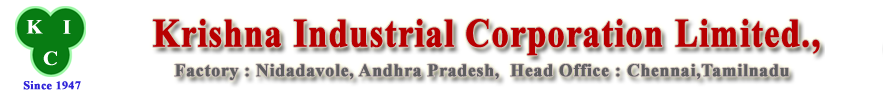 Krishna Industrial Corporation Limited.,